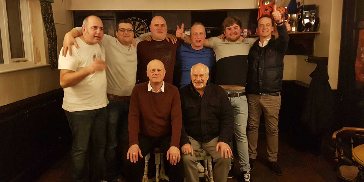 Gents group photo
