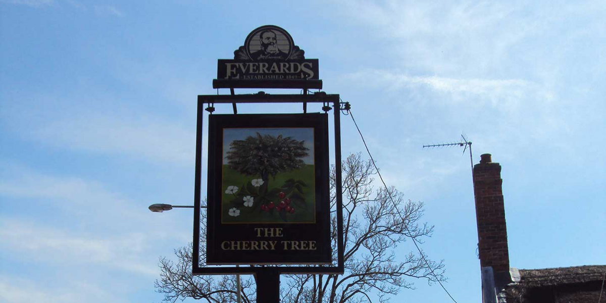 The Cherry Tree Sign Post
